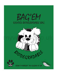 Bag'Em Scented Biodegradable Bags